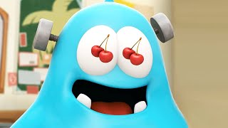 Spookiz Lustige animierte Karikatur | Spookiz Frankie das Monster Mülleimer | Cartoon für Kinder