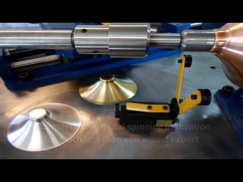 CNC Metal Spinning Machine - Brass, Copper, Aluminum