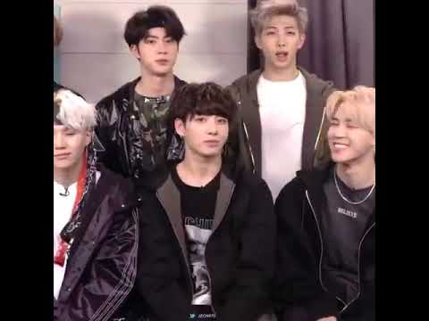 FUNNY || Jimin's reaction to RM'S