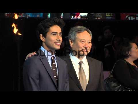 Suraj Sharma and Ang Lee at the UK Premiere of 'Life of P...