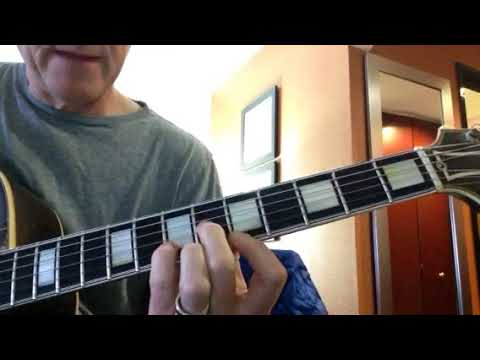 Whit's guitar daily #3triad stuff