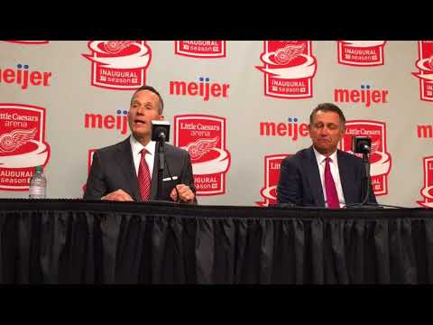 Red Wings' Chris Ilitch on Ken Holland's extension