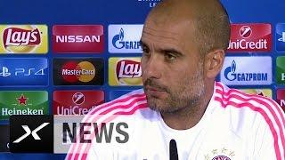 "Pep Guardiola: ""Arturo Vidal wird nicht dabei sein"" | FC Bayern München - Dinamo Zagreb"