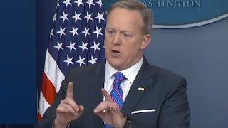 LIVE: Sean Spicer Full Press Briefing (2/23/17)   ABC News