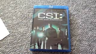 CSI : Crime Scene Investigation - The First Season - Blu-ray Unboxing and Review