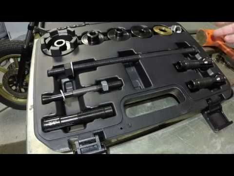 Pit Posse Harley Wheel Bearing Remover and Installer Tool VT102 UNBOXING