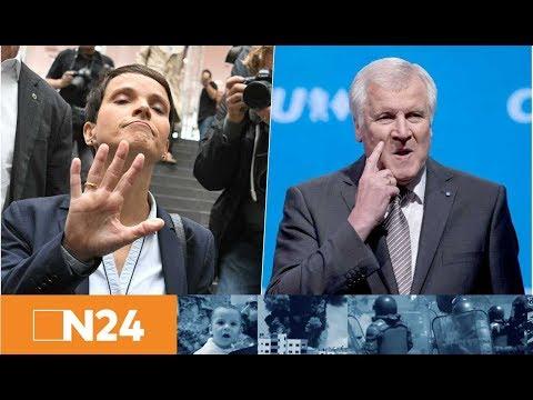 Paukenschläge: Seehofer zweifelt an Union mit CDU - Petry geht nicht mit der AfD