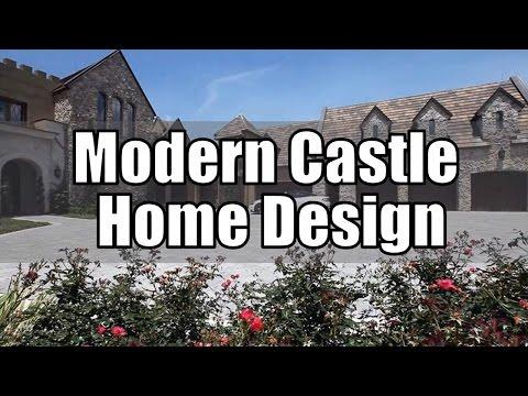 Modern Castle Home Design (Interior & Exterior)