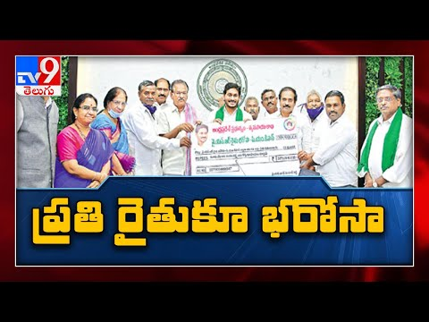 YSR Rythu Bharosa : AP CM YS Jagan Releases Rs 5,500 For Farmers - TV9