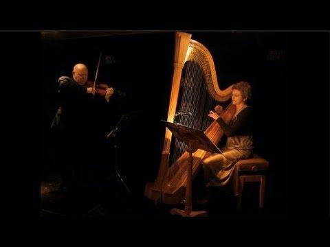 Le Cygne/The Swan  Piotr Janowski, violin & Malgorzata M. Sundberg, harp