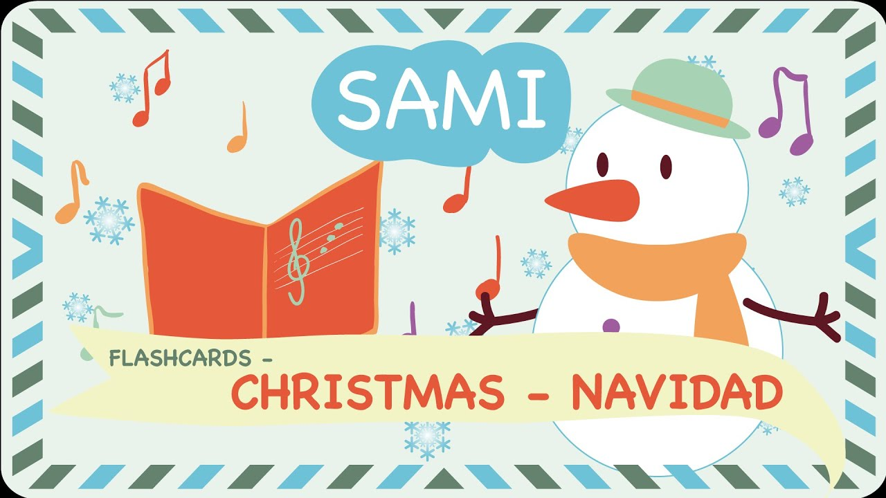 Christmas Flashcards In English Spanish By Sami Apps Flipped