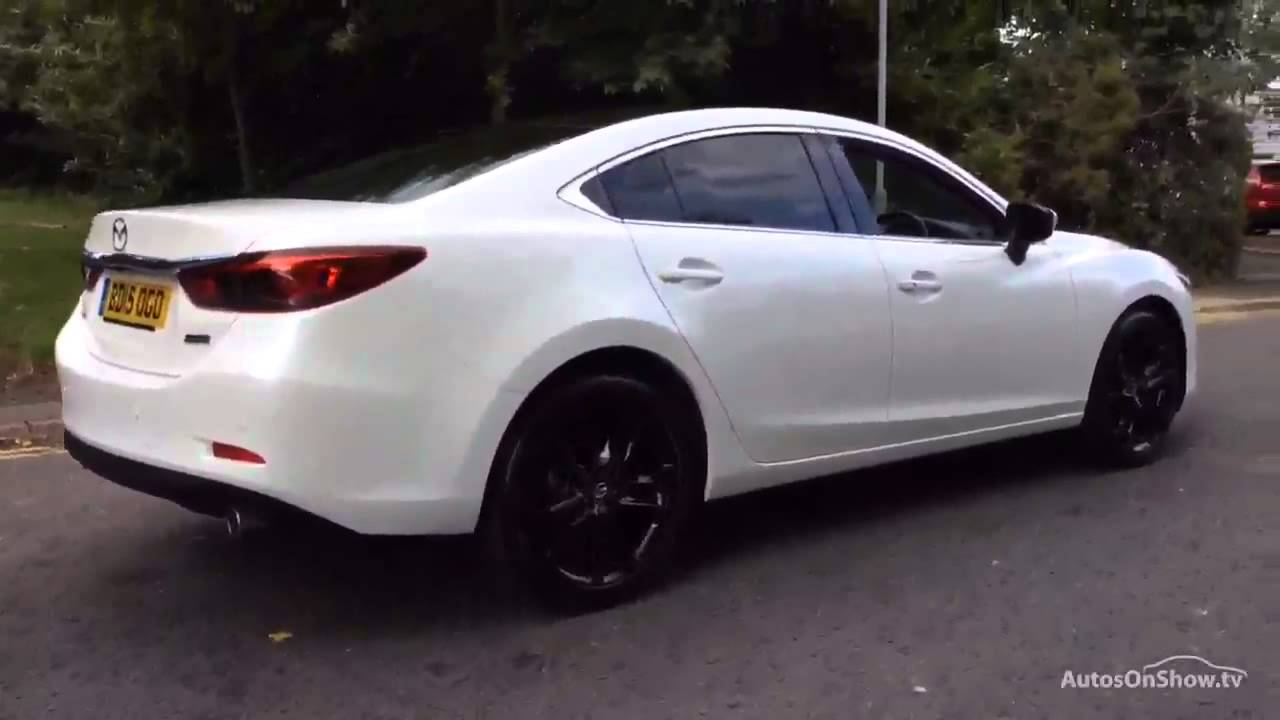 mazda 6 d sport nav white 2015 youtube. Black Bedroom Furniture Sets. Home Design Ideas