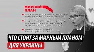 Что означает мирный план для Украины