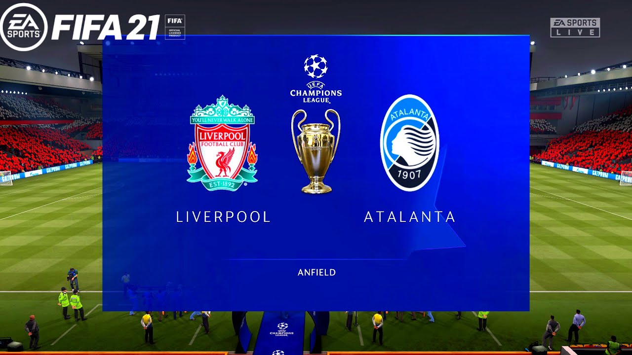 FIFA 21 | Liverpool vs Atalanta - UEFA Champions League Group Stage - Full  Match & Gameplay - YouTube