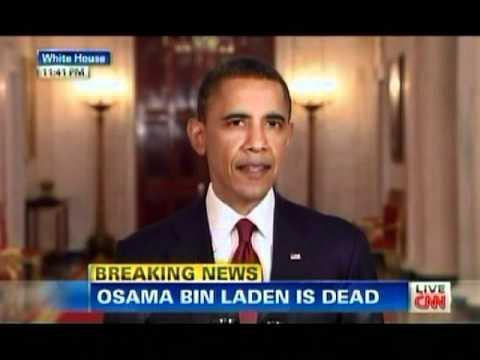Obamas Speech: Osama Bin Laden is Dead! - YouTube Obama Bin Laden Speech