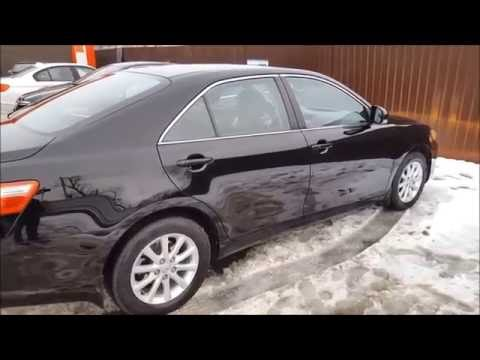 Toyota Camry царапина на весь бок и жидкое стекло