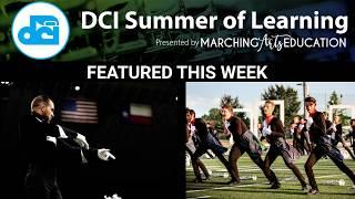 Drum Corps International Summer of Learning Blue Knights Guardians Webinars Marching Arts Education