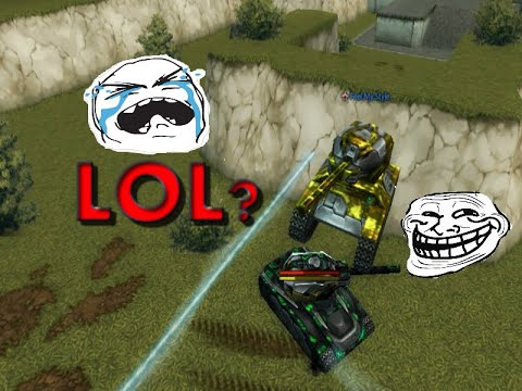 TANKI ONLINE - Xp/Bp TROLL MOMENTS