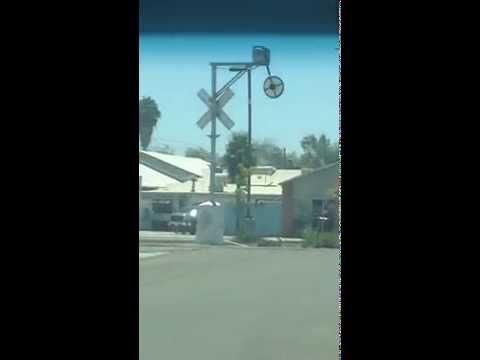 Hanford, California Wig Wag Railroad Crossing