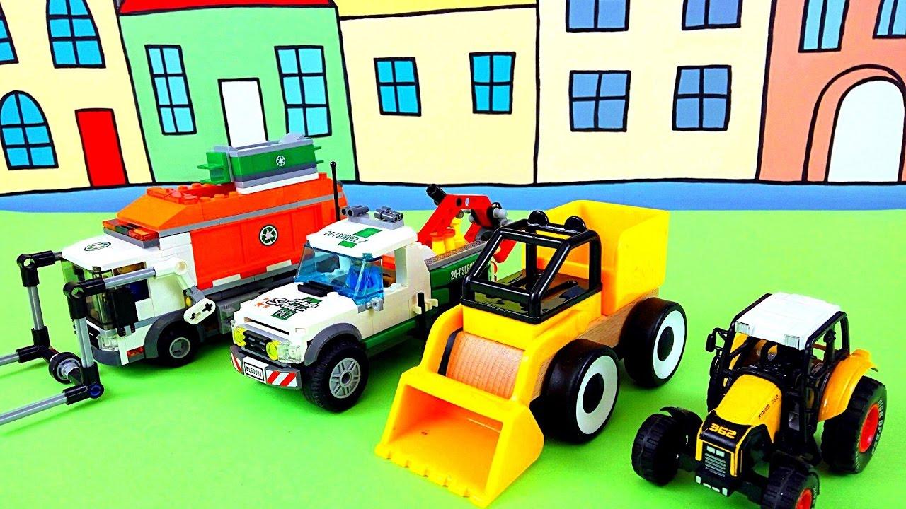 Строительные машинки ???? Игрушечный трактор и Спецтехника ???? Рабочие машинки у Гриши ???? ????
