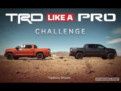 TRD Like A Pro Challenge