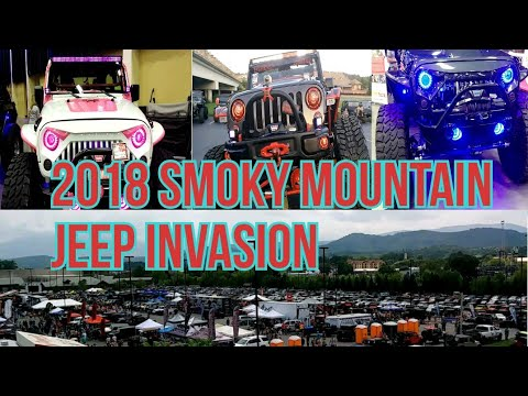 2018 Jeep Invasion Pigeon Forge Tennessee Youtube
