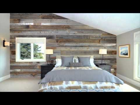 Bedrooms with Pallet Walls - YouTube on Bedroom Pallet Ideas  id=54337
