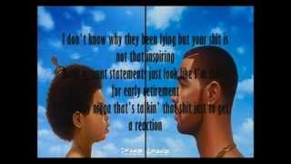 Repeat youtube video Drake - The Language | Nothing was the Same (Lyrics)