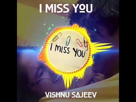 Romantic New Whatsapp Status I Miss You Tamil Cover Bgm