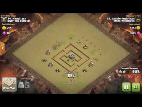 Clash of Clans- Engineer base design (th5)