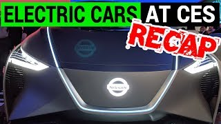 Electric Cars at CES 2019