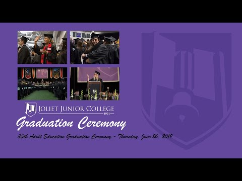 35th Annual Joliet Junior College Adult Education Graduation Ceremony