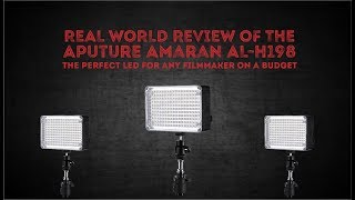Aputure Amaran AL-H198 the perfect LED for any filmmaker on a budget