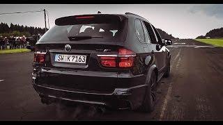 BMW X5M Megan Racing 700HP - Exhaust SOUNDS / Revs & Accelerations