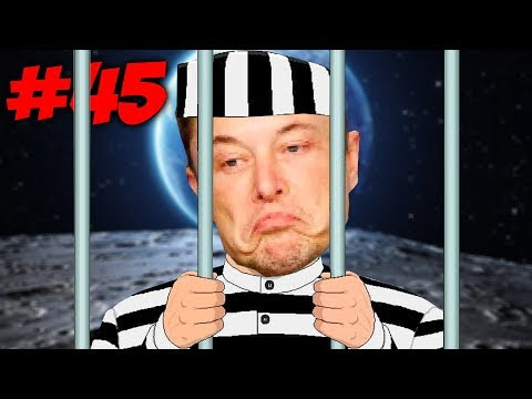 ПОБЕГ ИЗ КОСМИЧЕСКОЙ ТЮРЬМЫ \\  Приключений Илона Маска в Minecraft #45