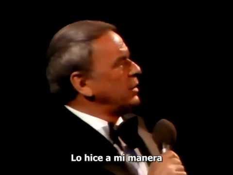 My Way - Frank Sinatra  (Live)  1974, Subtitulado Español