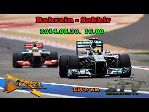 2014.08.30 16:00h-tól:MSZL F1 Bahrain