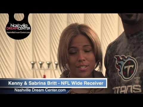 NFL Wide Receiver Kenny Britt & Sabrina Britt Promo For The Nashville Dream Center