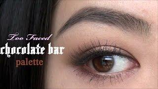 アイメイク|デカ目になる?Halo eyes メイク| Too Faced Chocolate bar palette tutorial