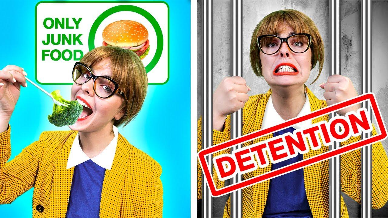 Download Principal`s SON VS Squid Game - If a Teenager Was the Principal | GIRLS VS BOYS by La La Life School