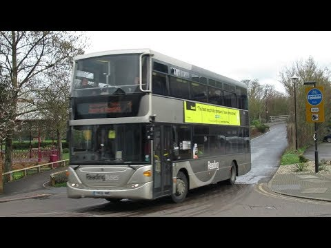 Buses at Newbury March 2019
