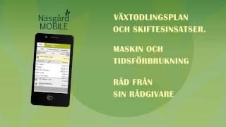 Näsgård Mobile  -- Växtodlingsplanering på smartphone