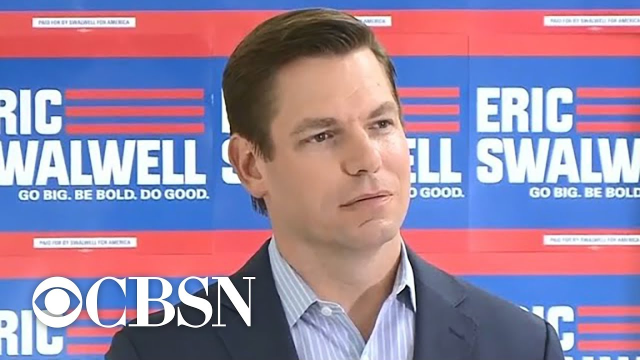 Democrat Eric Swalwell drops out of presidential race