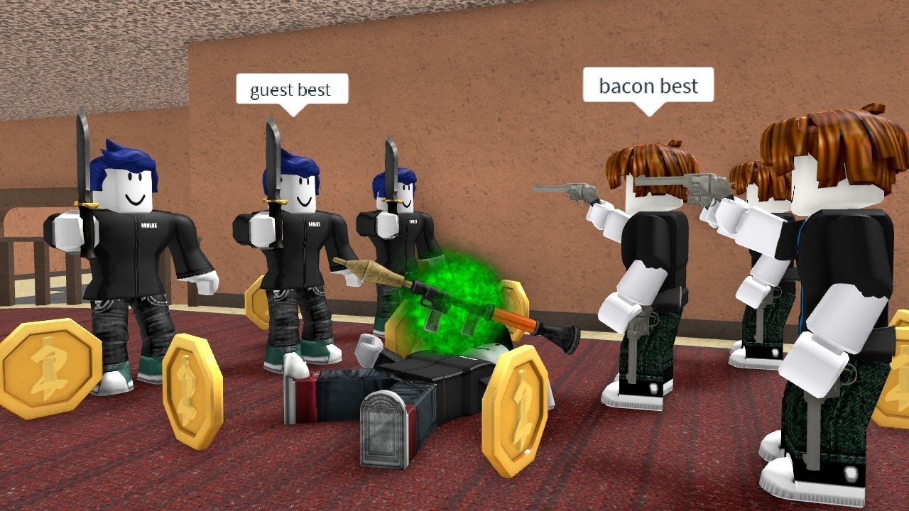 ROBLOX Murder Mystery 2 FUNNY MOMENTS FRIEND