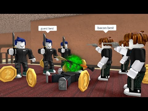 ROBLOX Murder Mystery 2 FUNNY MOMENTS (FRIEND)