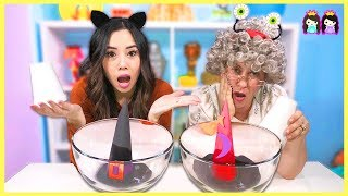 Easy DIY Kids Science Experiments to Do at Home! Melting A Witch