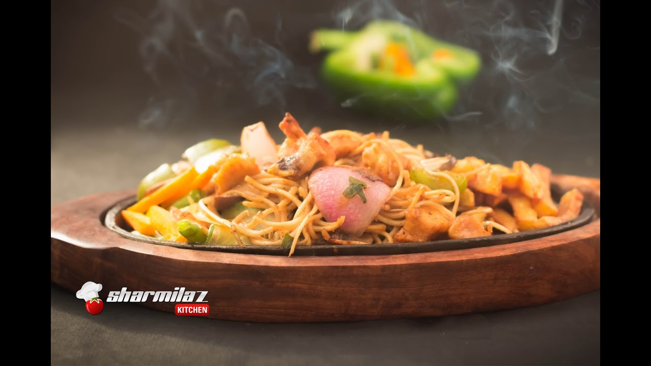 Chinese Chicken Sizzler  Sizzling  Delicious -2342