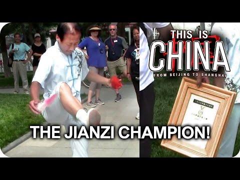 The Jianzi Champion! Chinese National Sport | This is China (Day 4)