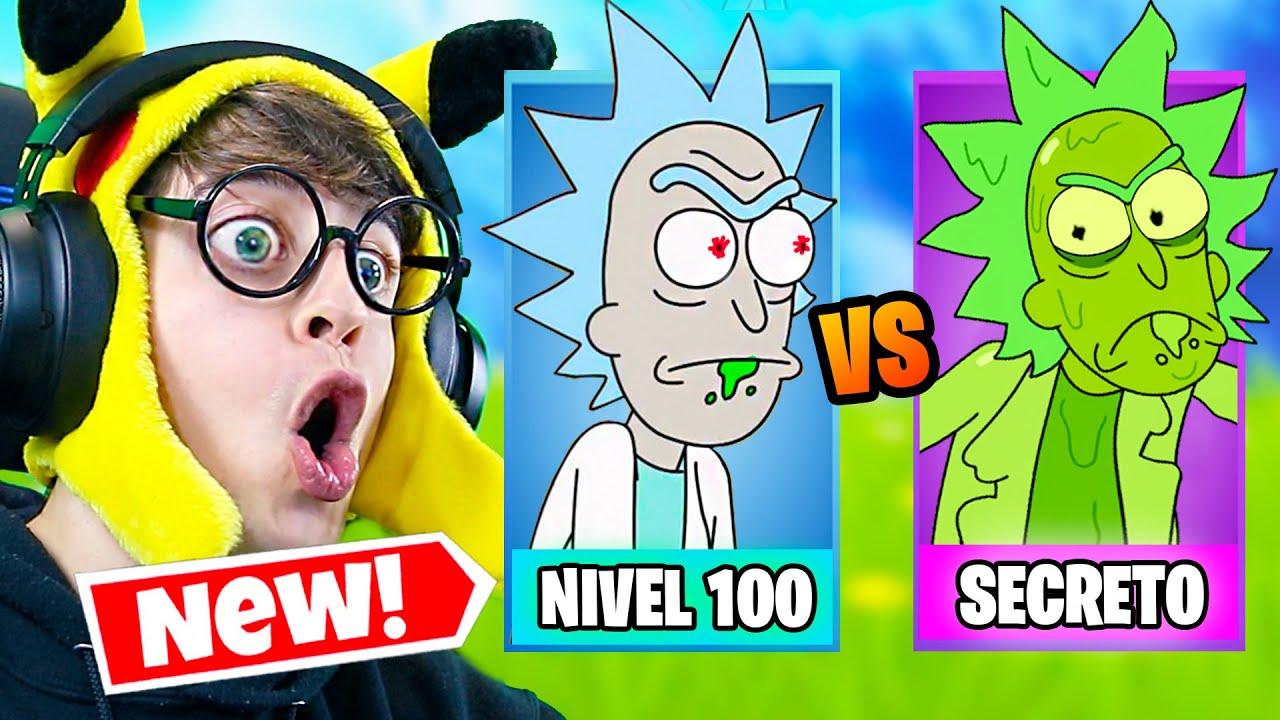 Download Desbloqueando Nueva Skin **SECRETA** Rick Tóxico en Fortnite!! (Nueva Temporada 7 Challenge)