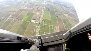 'Hop n Pop' Skydive over Lodi, CA | GoPro Hero 3+ | Parachute Center